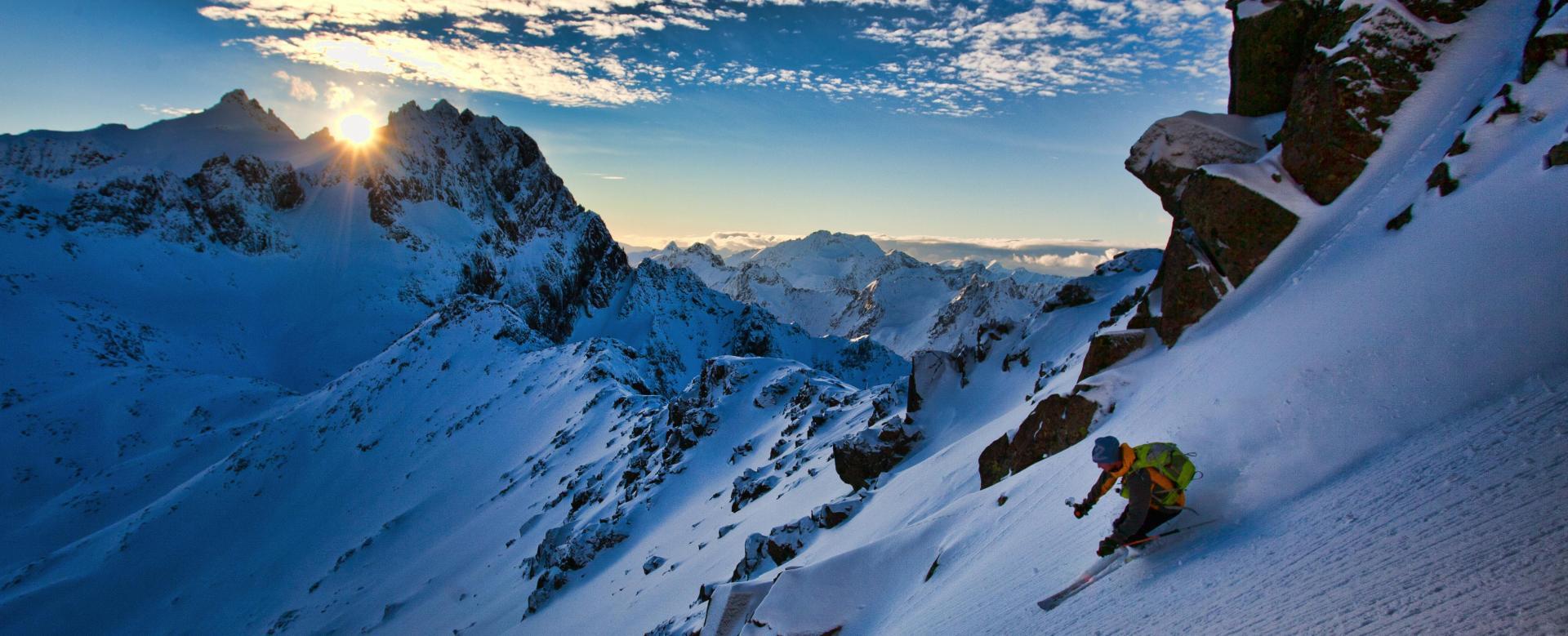 Voyage à la neige Norvège : Ski et aurores boréales dans les alpes de lyngen