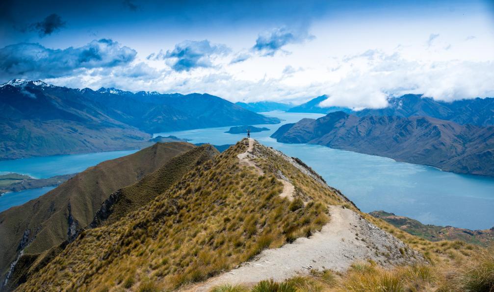 Image Trek en terre maorie