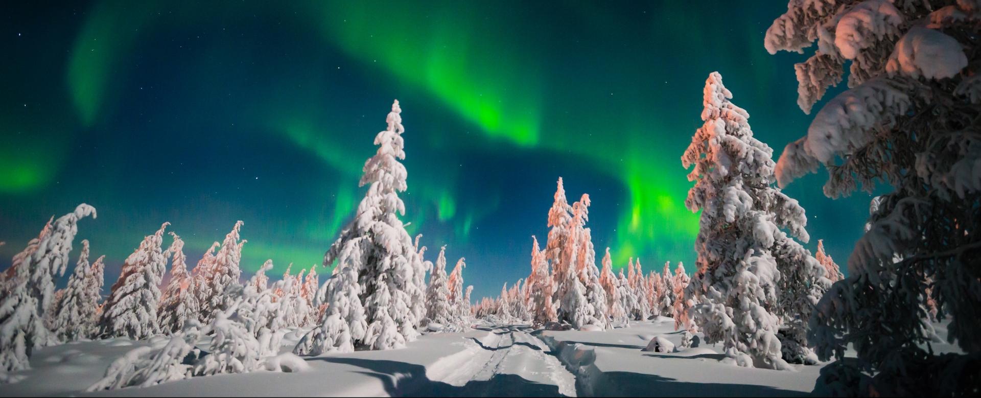 Voyage à pied : Séjour de glace en laponie