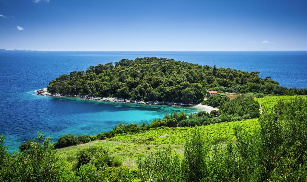 Image La dalmatie de parcs en îles