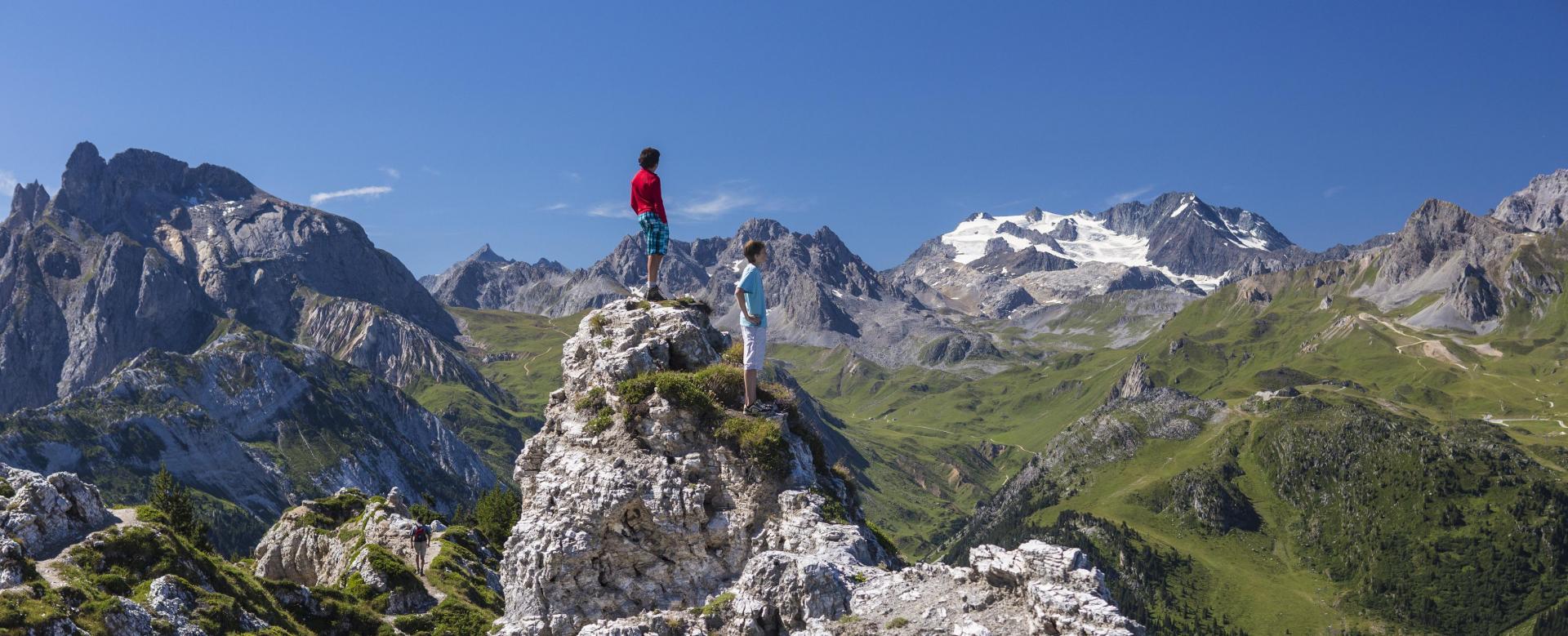 Voyage à pied France : Le tour de la vanoise