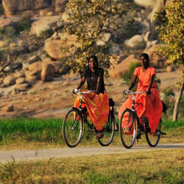 Inde à vélo, des temples d'Hampi aux plages de Goa