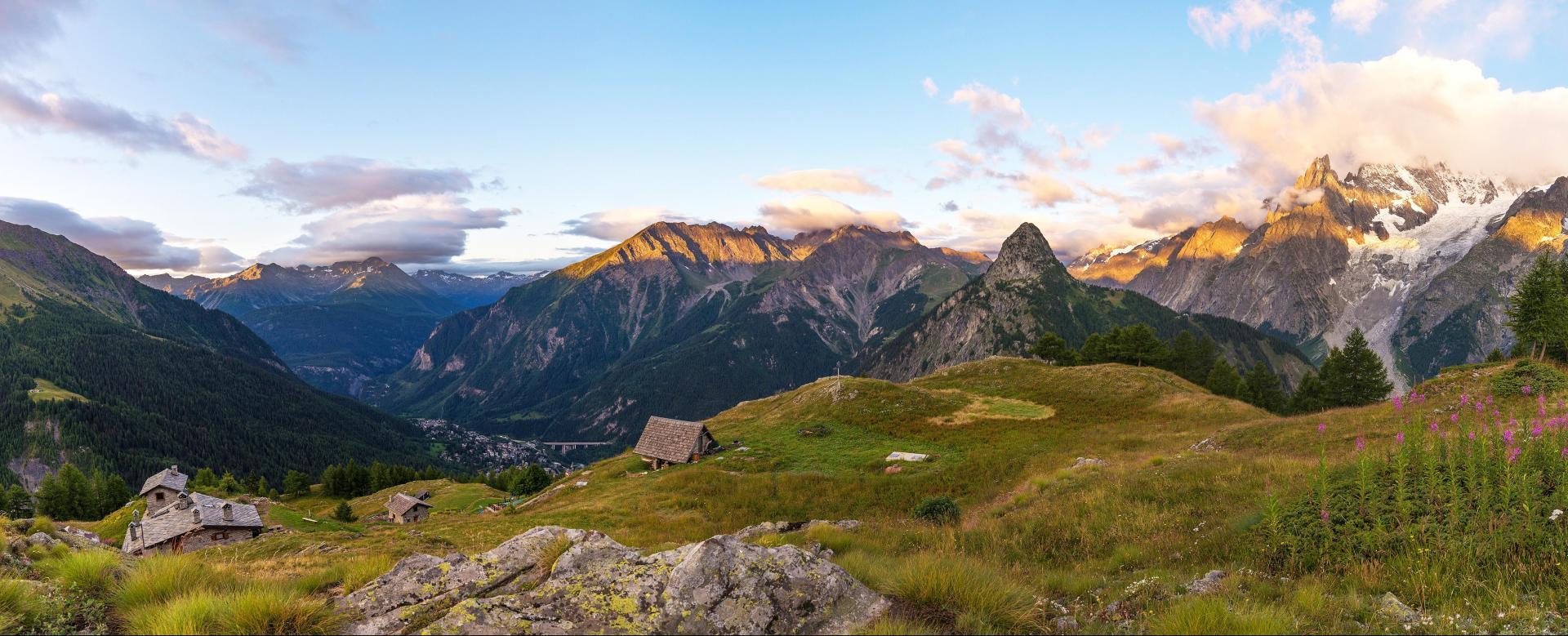Voyage à pied : Le trail du mont-blanc en 6 jours