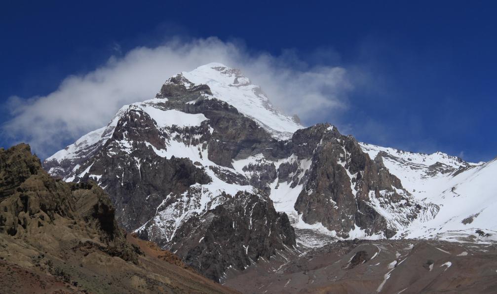 Image L'aconcagua (6962 m) par la traversée