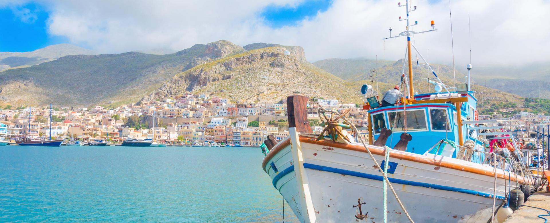 Voyage à pied : Crète, santorin et thirassia en famille