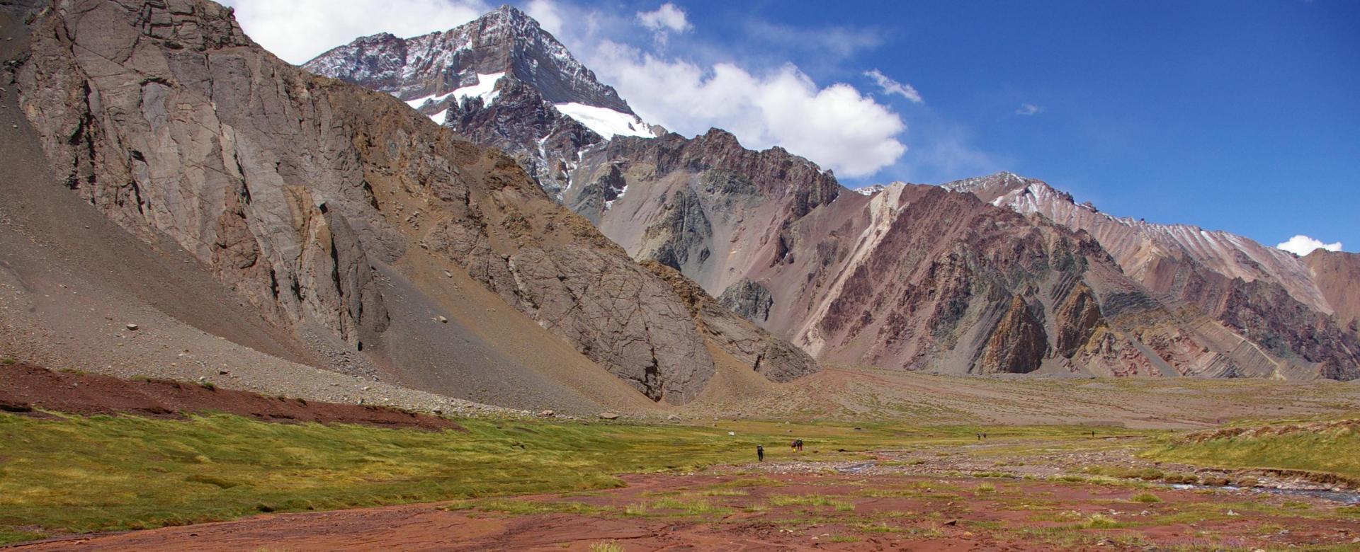 Voyage à pied : L\'aconcagua (6962 m) par la voie normale