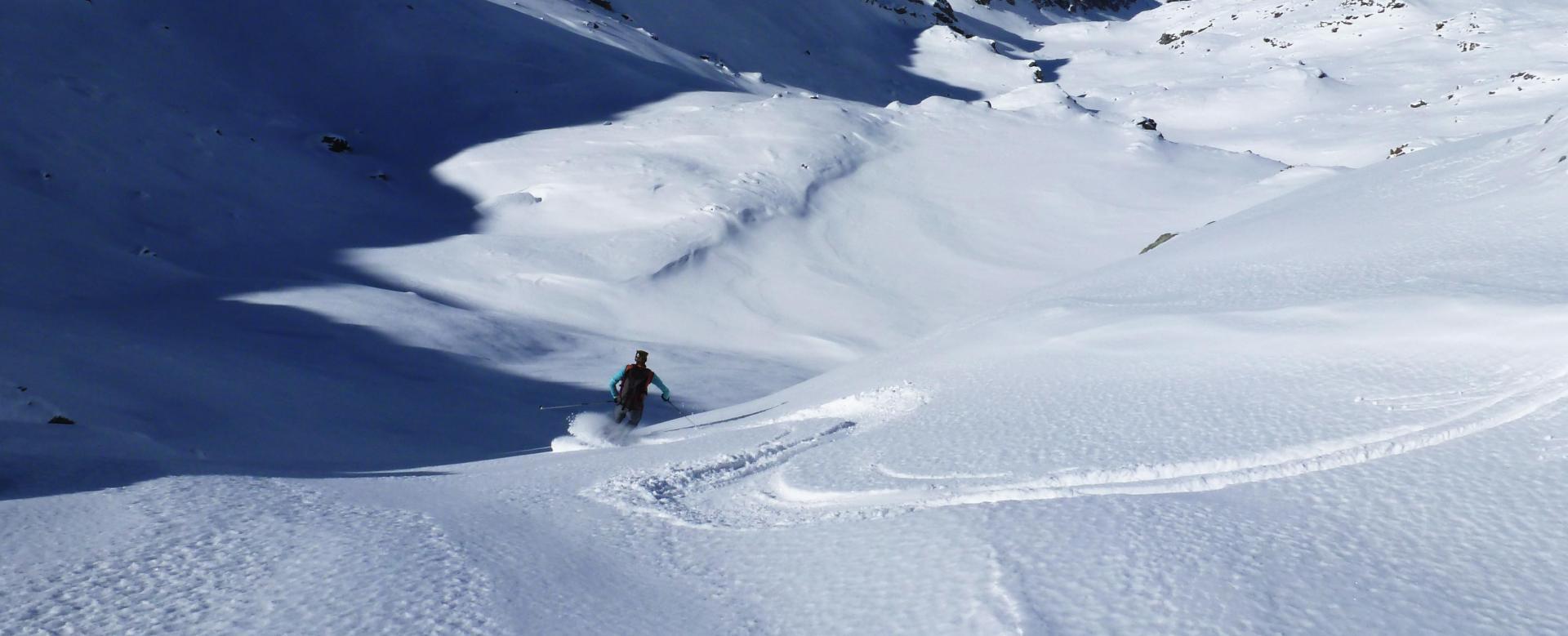 Voyage à la neige : Découverte du massif du viso