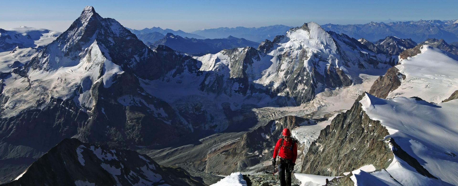 Voyage à pied Suisse : La haute route du cervin