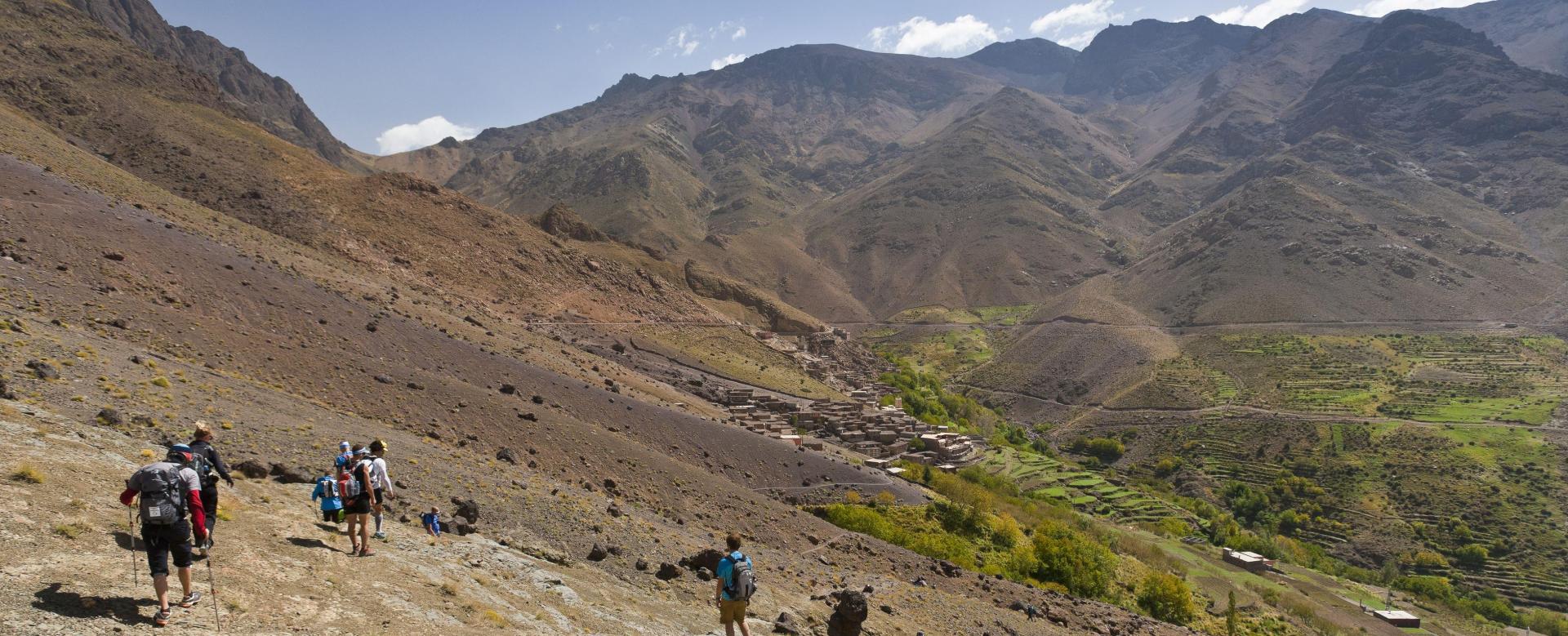 Voyage à pied : Maroc : Villages et vallées du toubkal