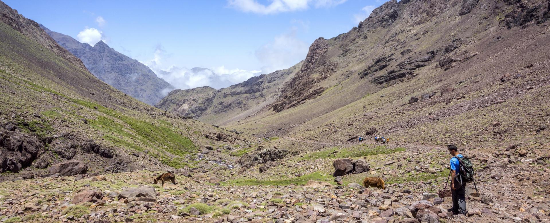 Voyage à pied : Le raid du toubkal