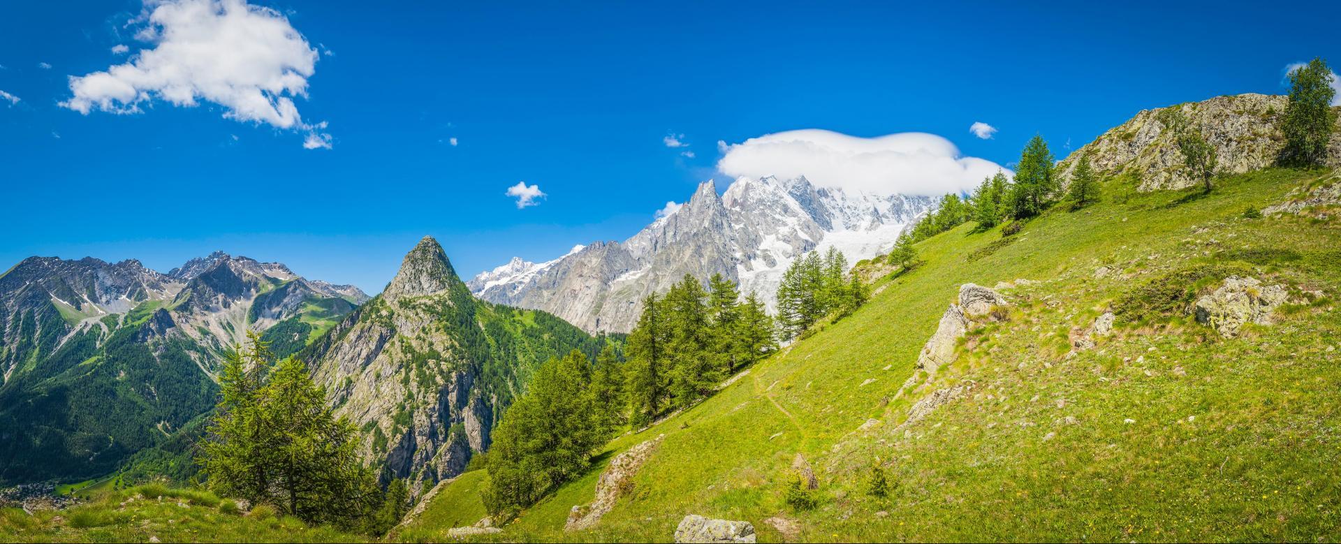 Voyage avec des animaux France : Le tour du mont-blanc avec une mule