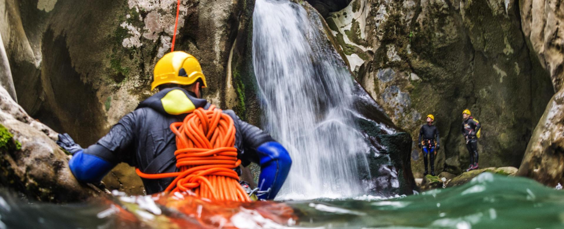 Voyage sur l'eau : Canyons de la roya