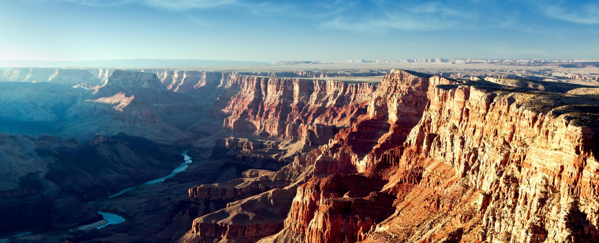Voyage à pied : Du grand canyon à yellowstone