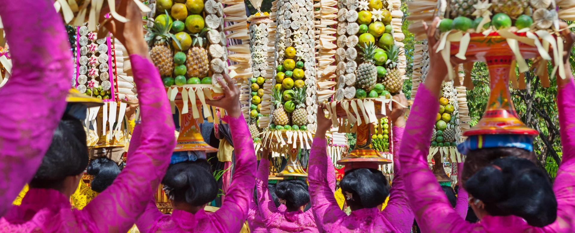 Voyage à pied Indonésie : Bali, trésor hindou