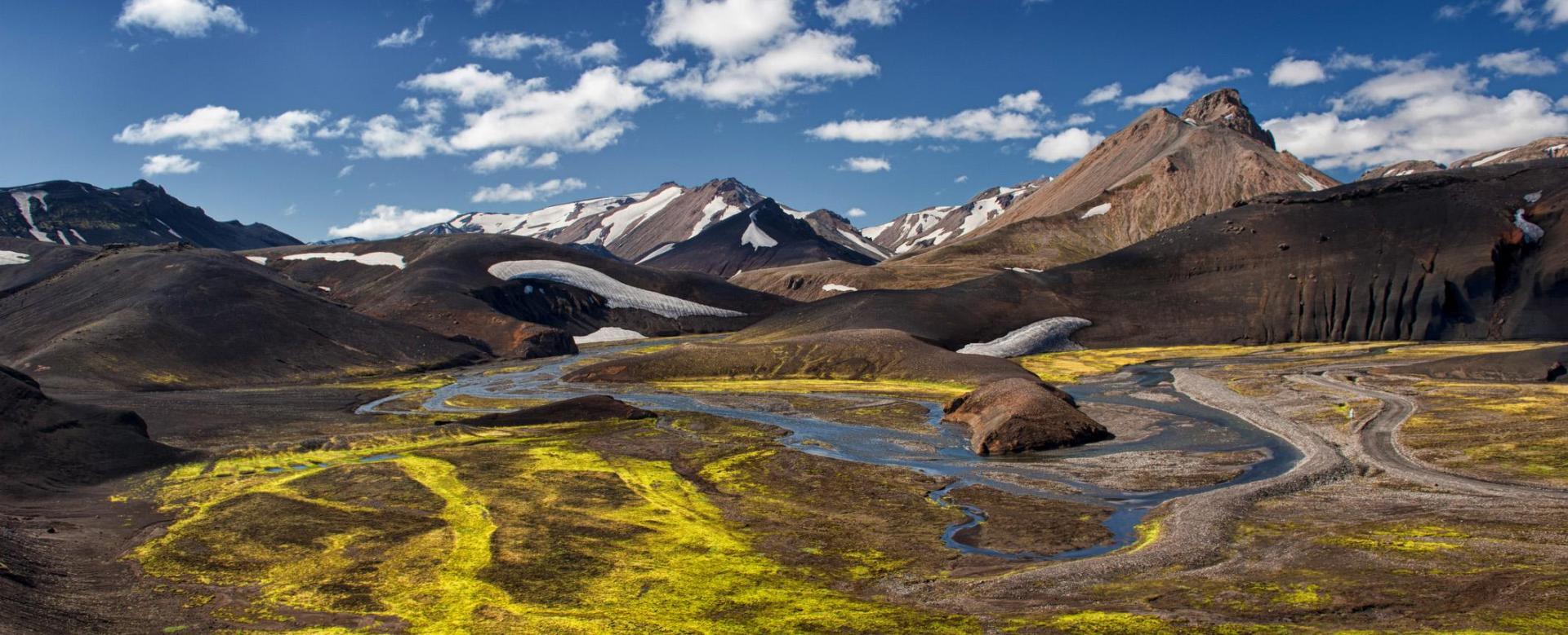 Voyage à pied : La saga des volcans et des fjords