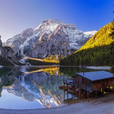 Au coeur des Dolomites