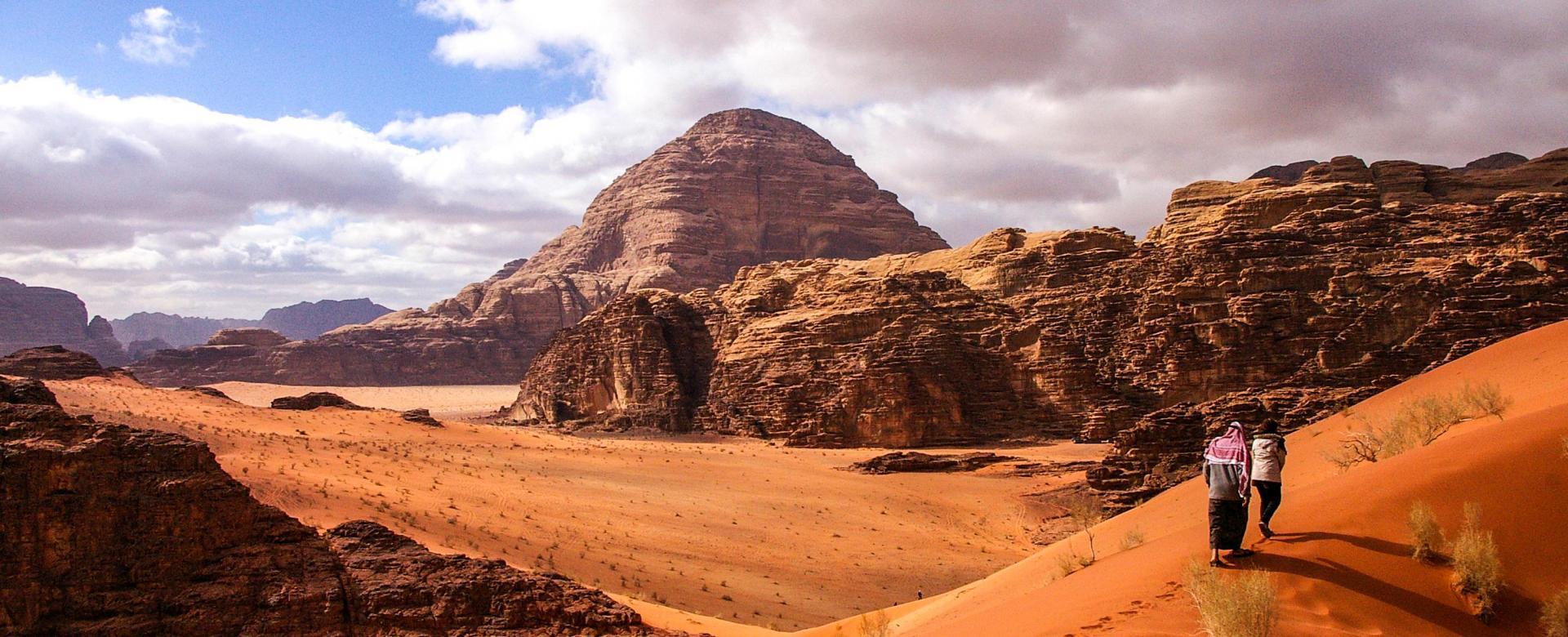 Voyage à pied Jordanie : Au royaume des nabatéens