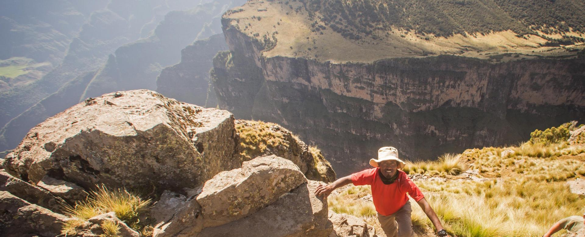 Voyage à pied Ethiopie : Simien et trésors d'abyssinie