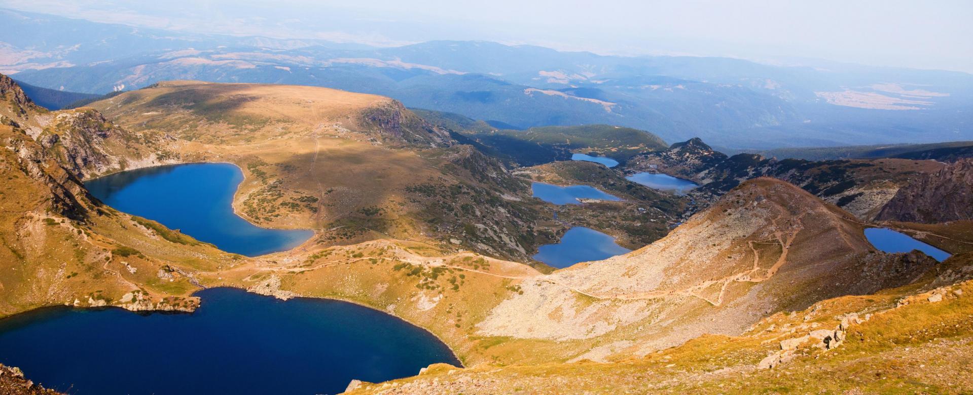 Voyage à pied : Trilogie bulgare : balkan, rila et pirin