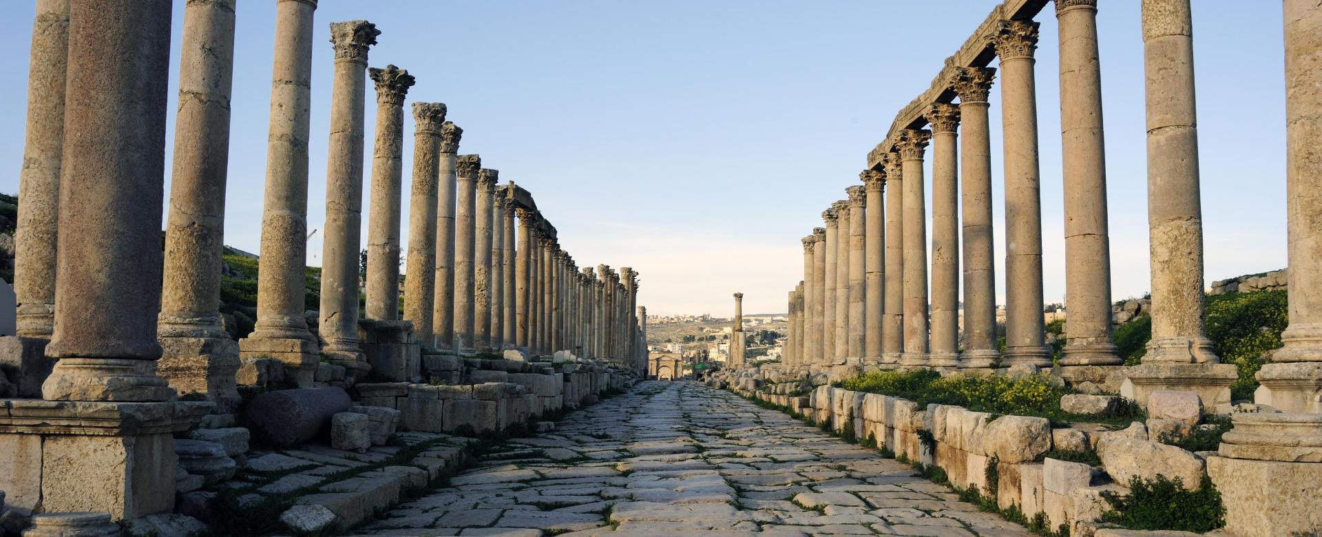 Voyage à pied : Au royaume hachémite