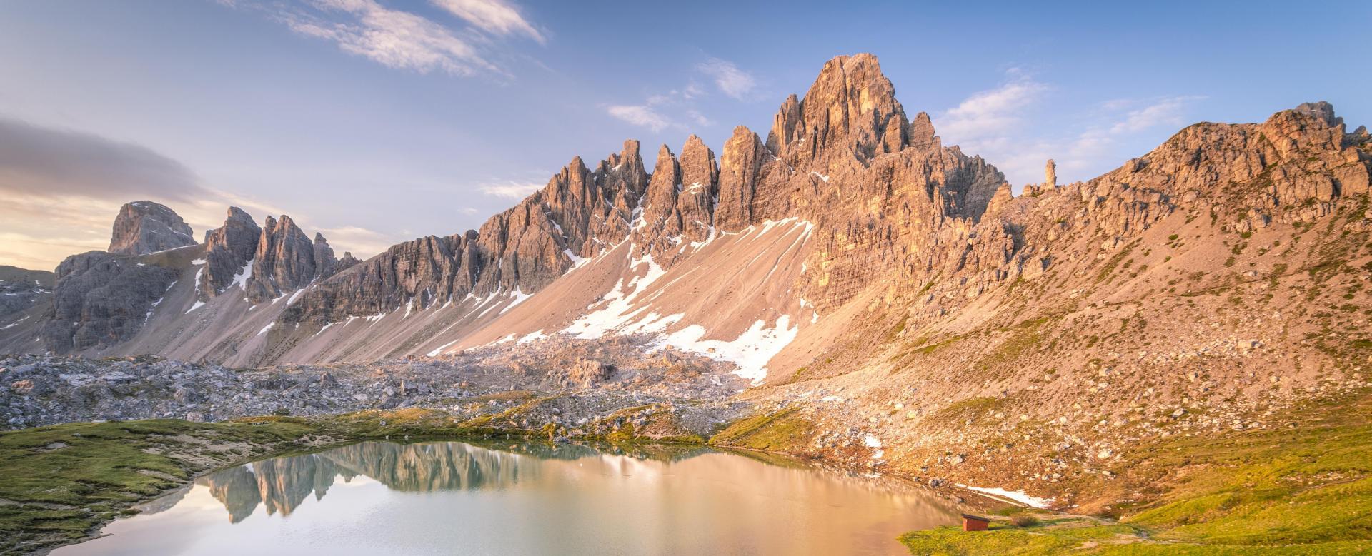 Voyage à pied Italie : Dolomites, citadelles alpines