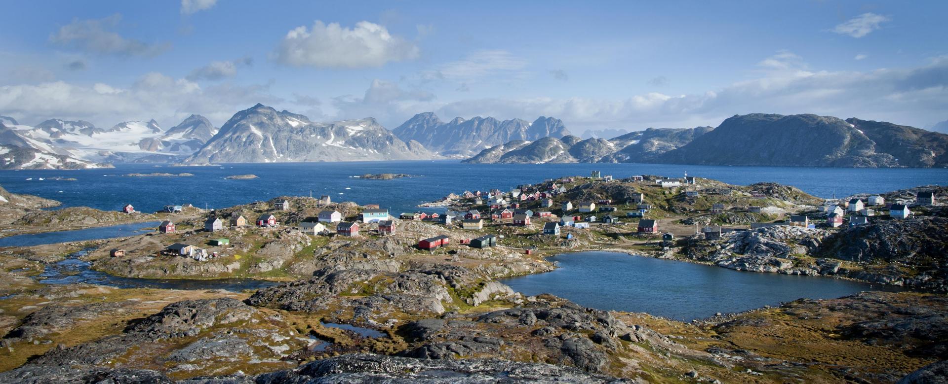 Voyage à pied Groenland : Merveilles du groenland est