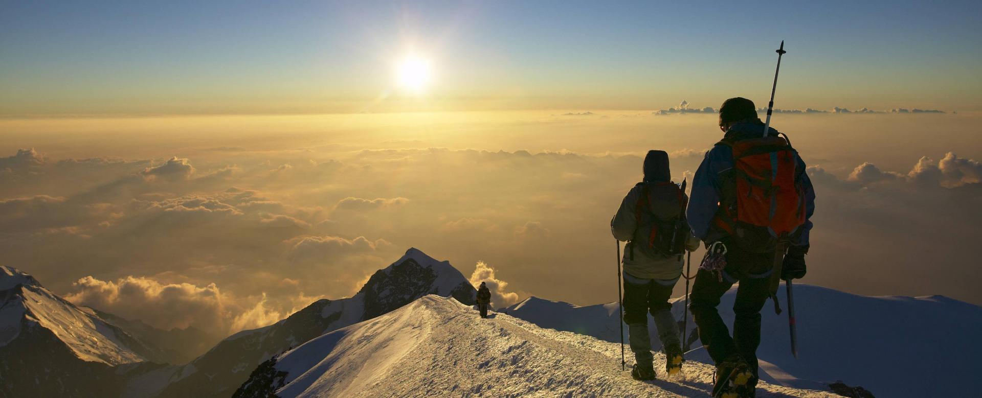Voyage à pied : Objectif mont blanc (4809 m)