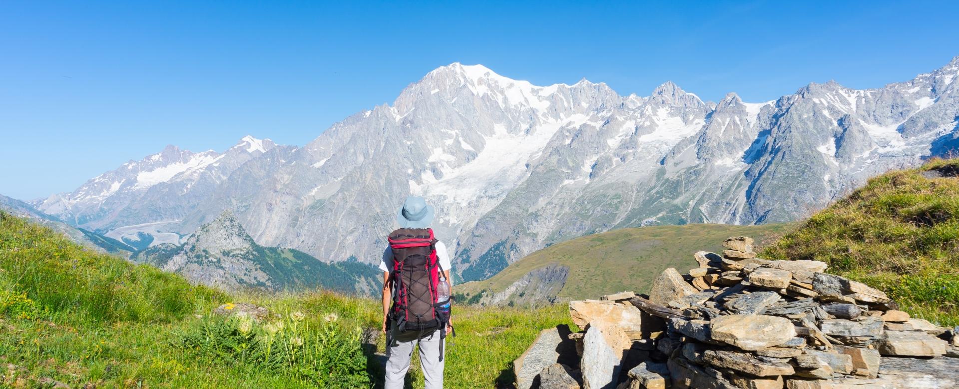 Voyage à pied : Tour du mont-blanc en liberté sur mesure