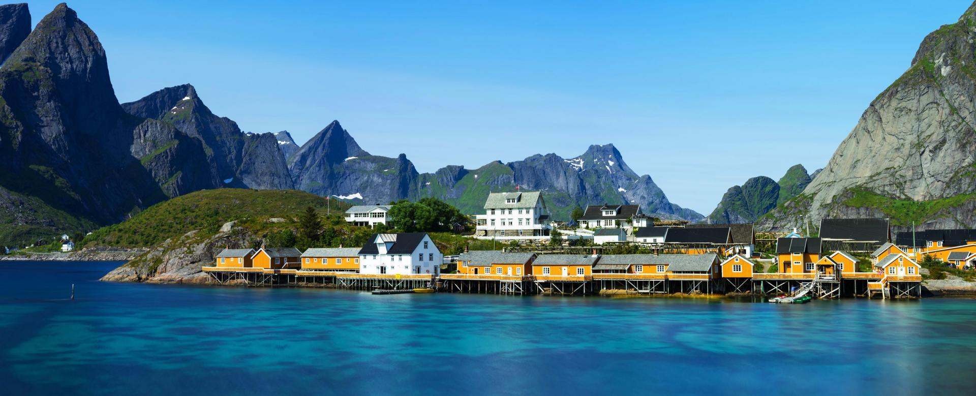 Voyage à pied : Norvège : Des lofoten au cap nord