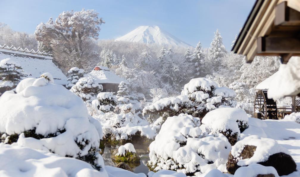 Image Alpes japonaises et fuji-yama