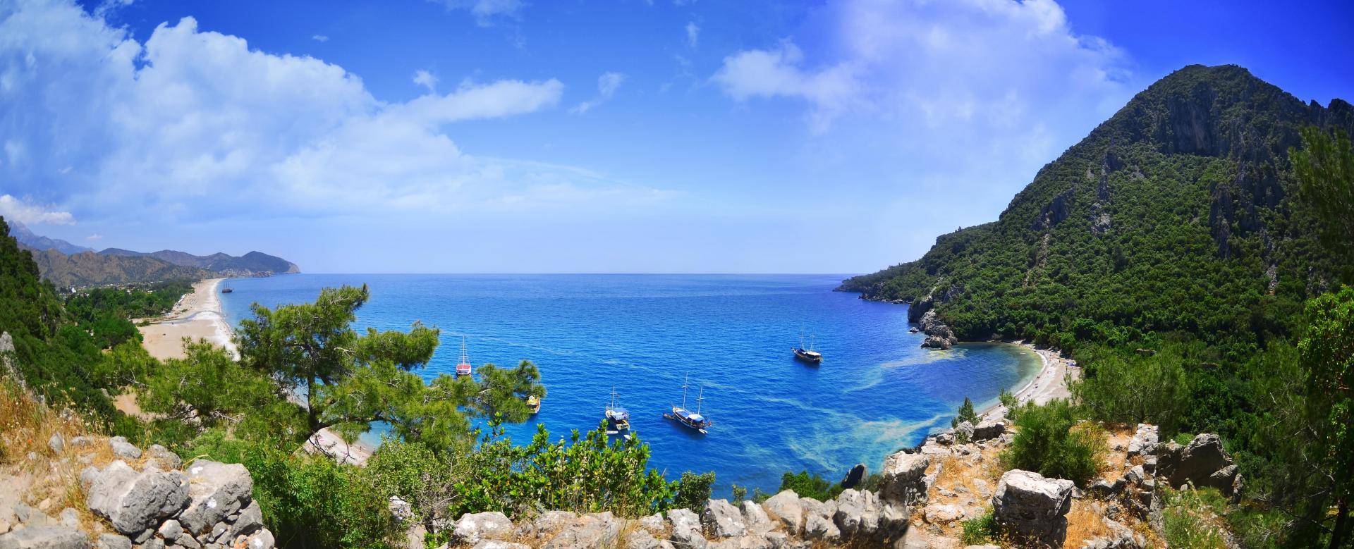 Voyage à pied Turquie : Cités de la côte lycienne