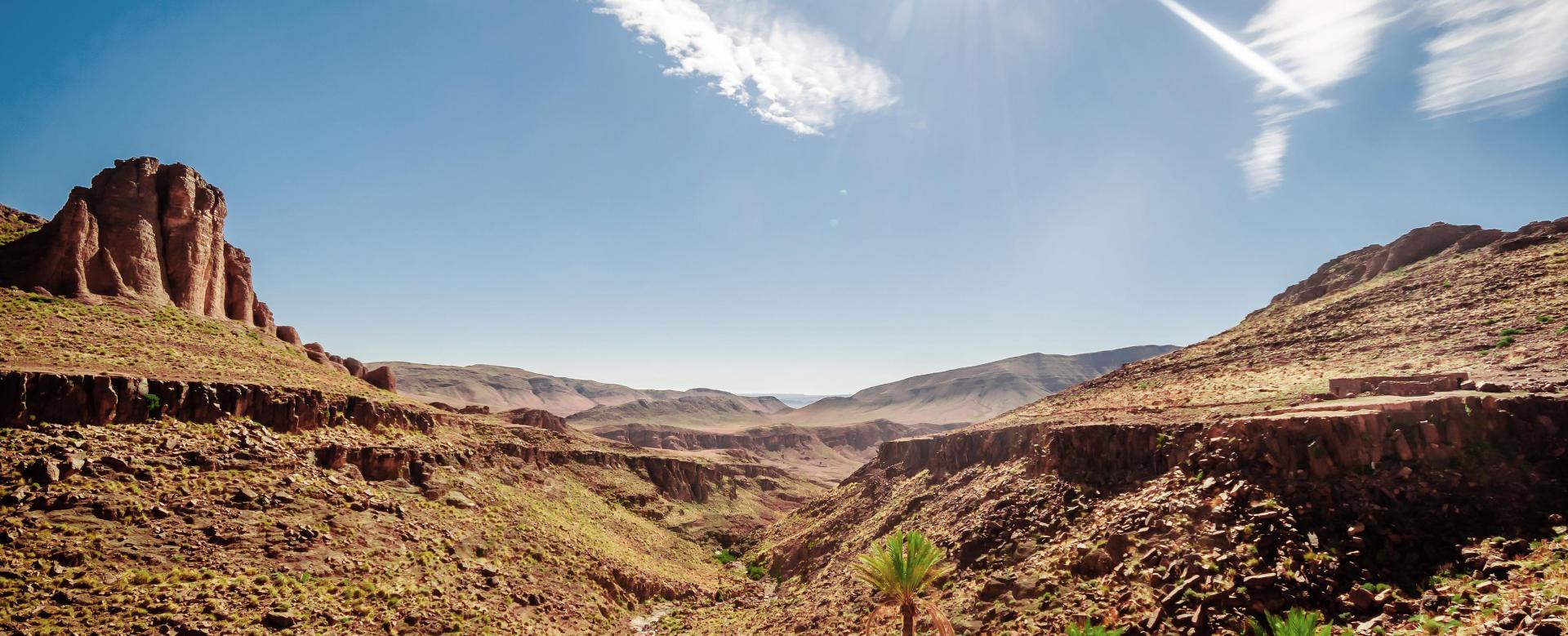 Voyage à pied Maroc : Les flèches du sarhro