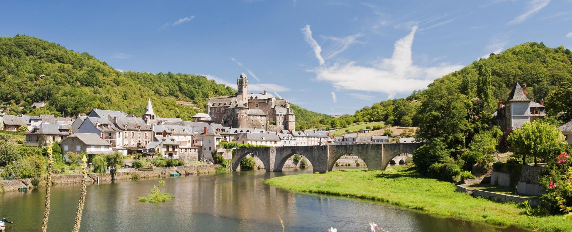 Voyage à pied France : Compostelle : via podiensis nasbinals-conques