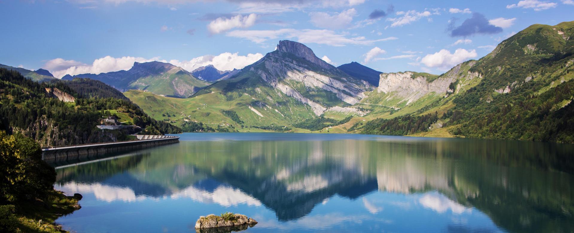 Voyage à pied : Le trail du beaufortain