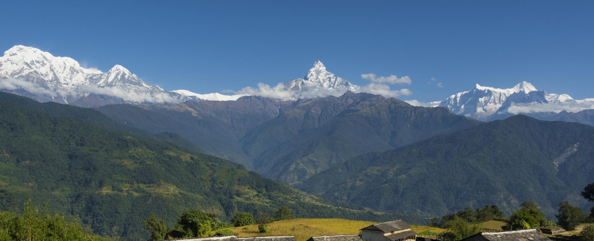 Voyage à pied : Trail au népal sur le balcon des annapurnas