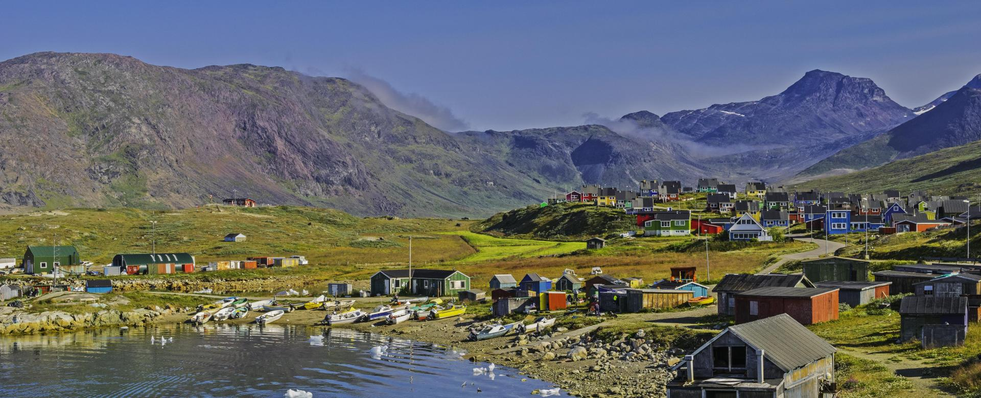 Trekking Groenland : Groenland sud : icebergs et glaciers