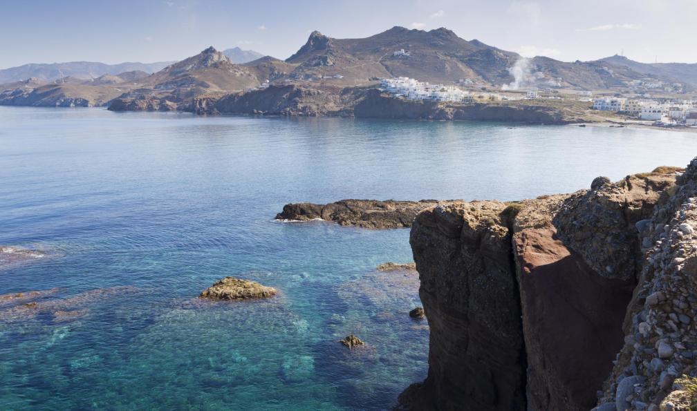 Image L'odyssée des cyclades : santorin, naxos, amorgos