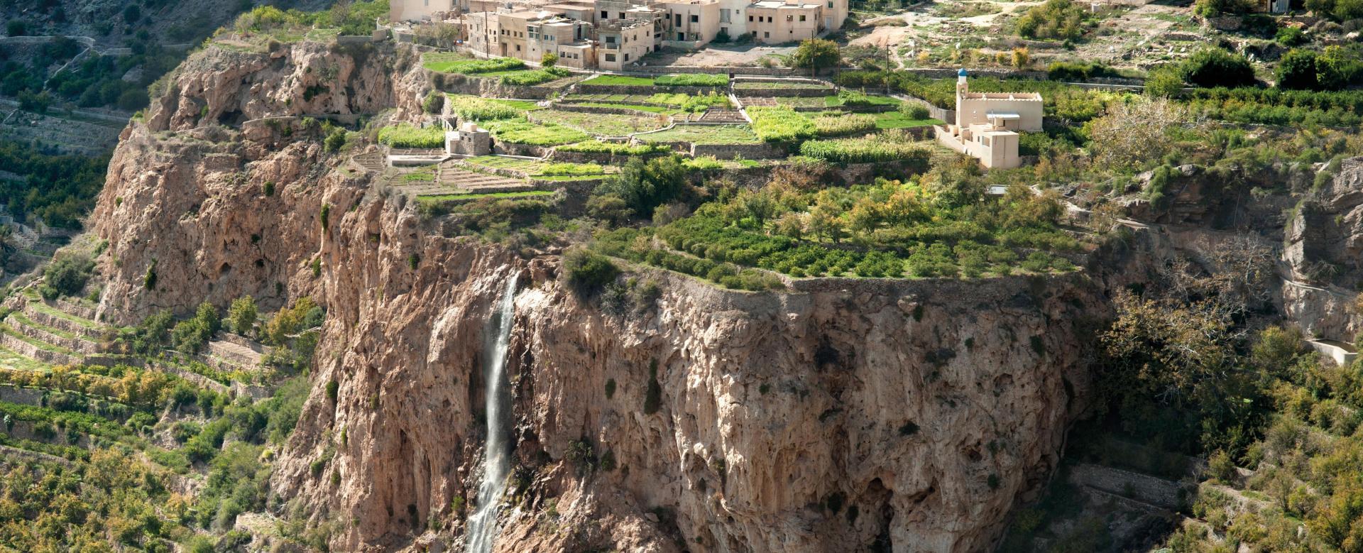 Voyage à pied : Escapade omanaise