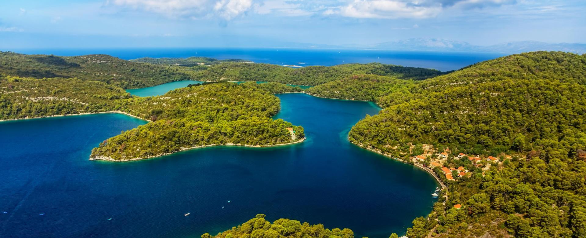 Voyage à pied : Croatie : Dubrovnik, korcula et mljet
