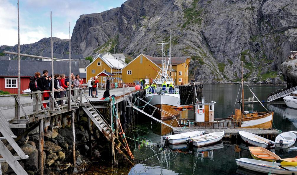 Image Des fjords aux lofoten