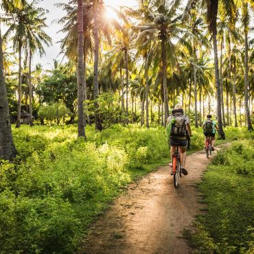 Vélo et rando à Bali