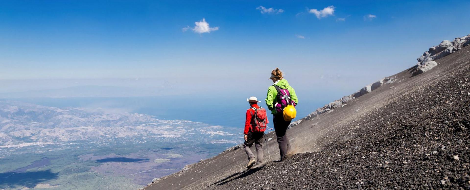 Voyage à pied Italie : Iles et volcans de l'italie du sud
