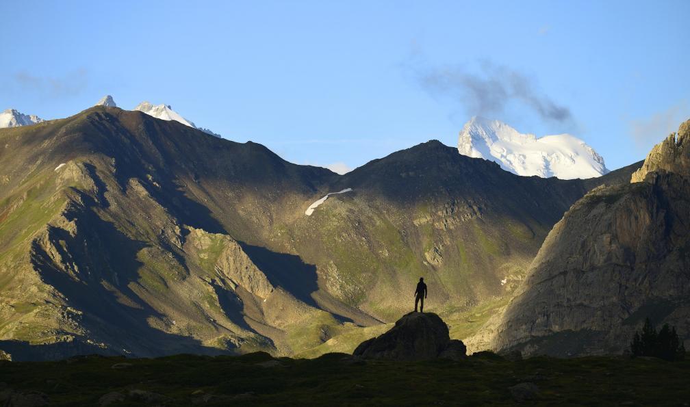 Image Mont thabor et sommets de la clarée