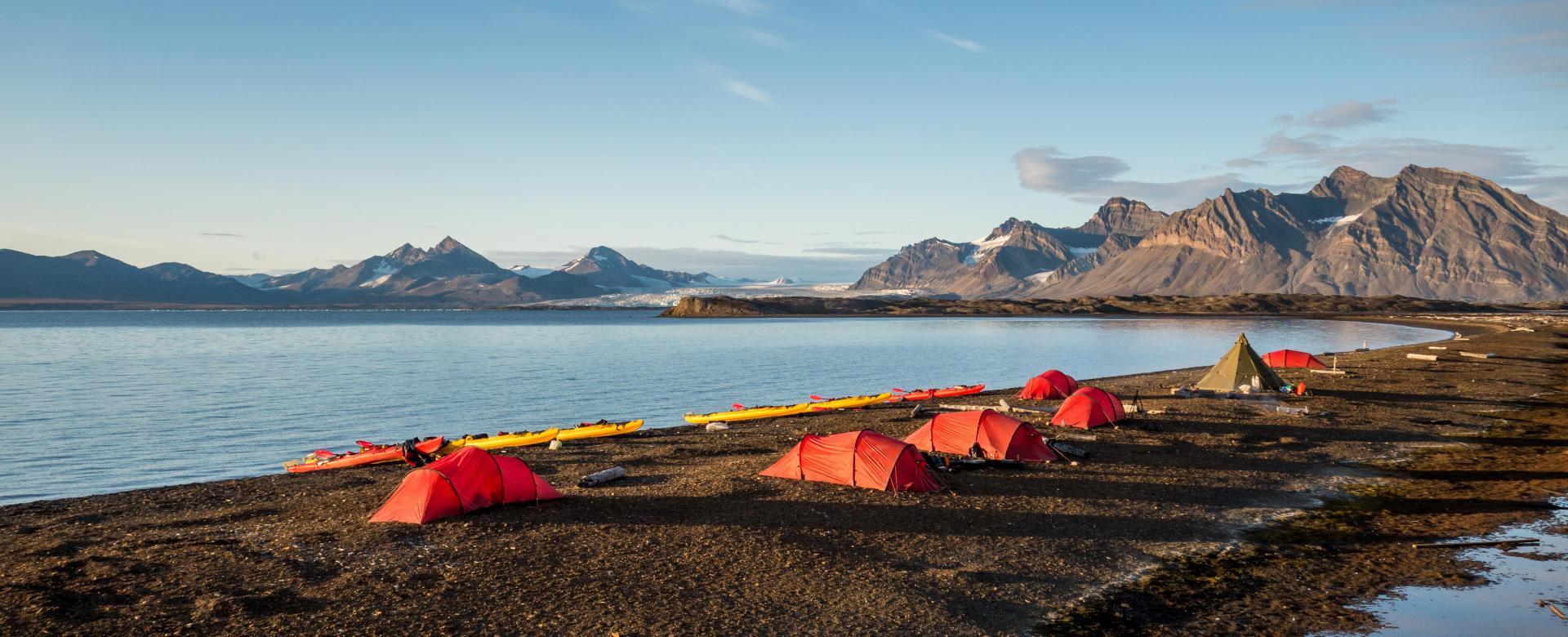 Voyage à pied : Norvège : Itinérance arctique