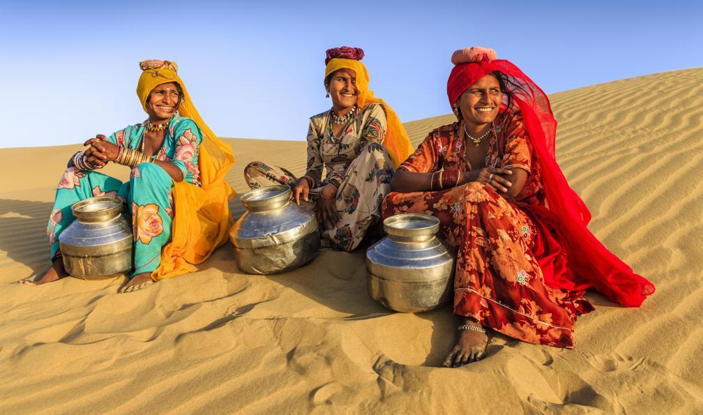 Image Rajasthan, désert du thar et bénarès