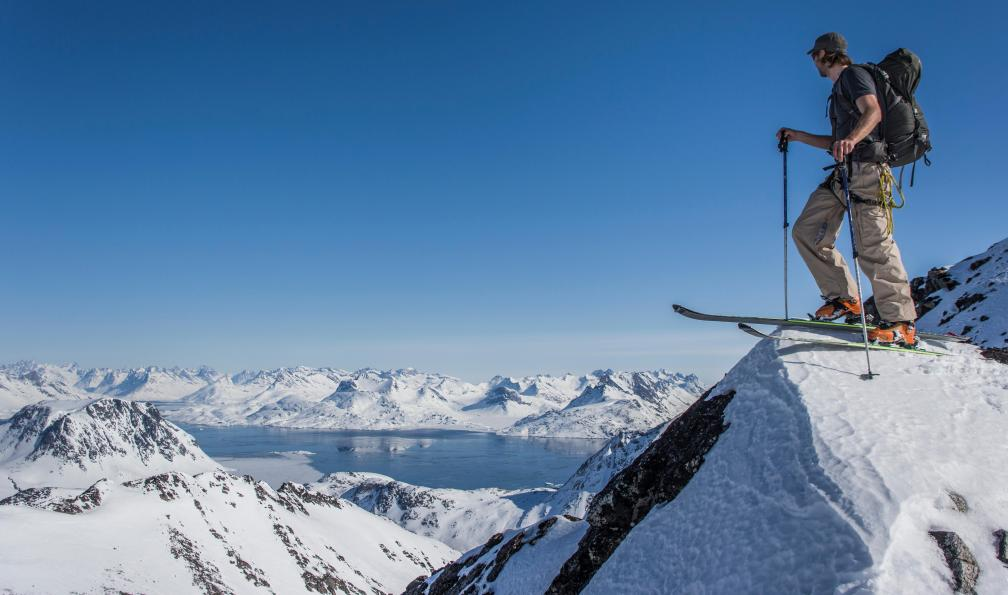 mignon pas cher site autorisé nouveaux prix plus bas Ski de randonnée en terre inuite