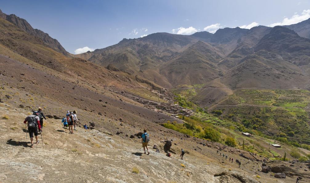 Image Trail du toubkal