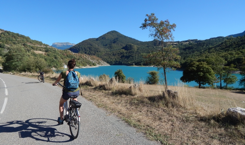 Image Vercors, trièves et lac du monteynard à vélo