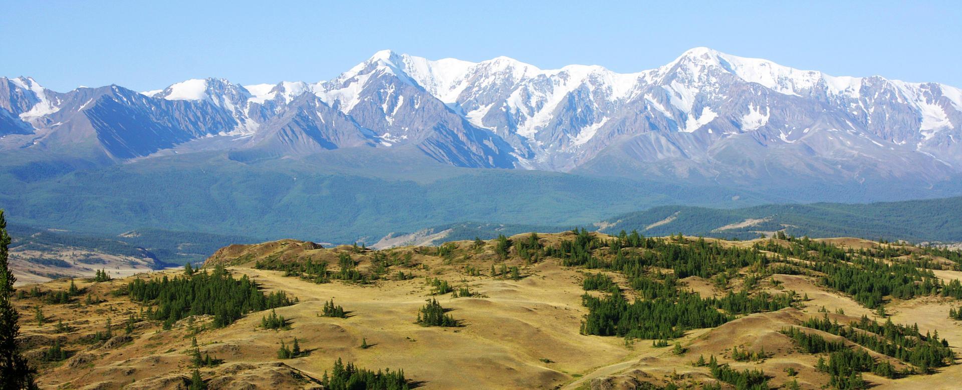Voyage à pied : Montagnes et steppes de l'altaï