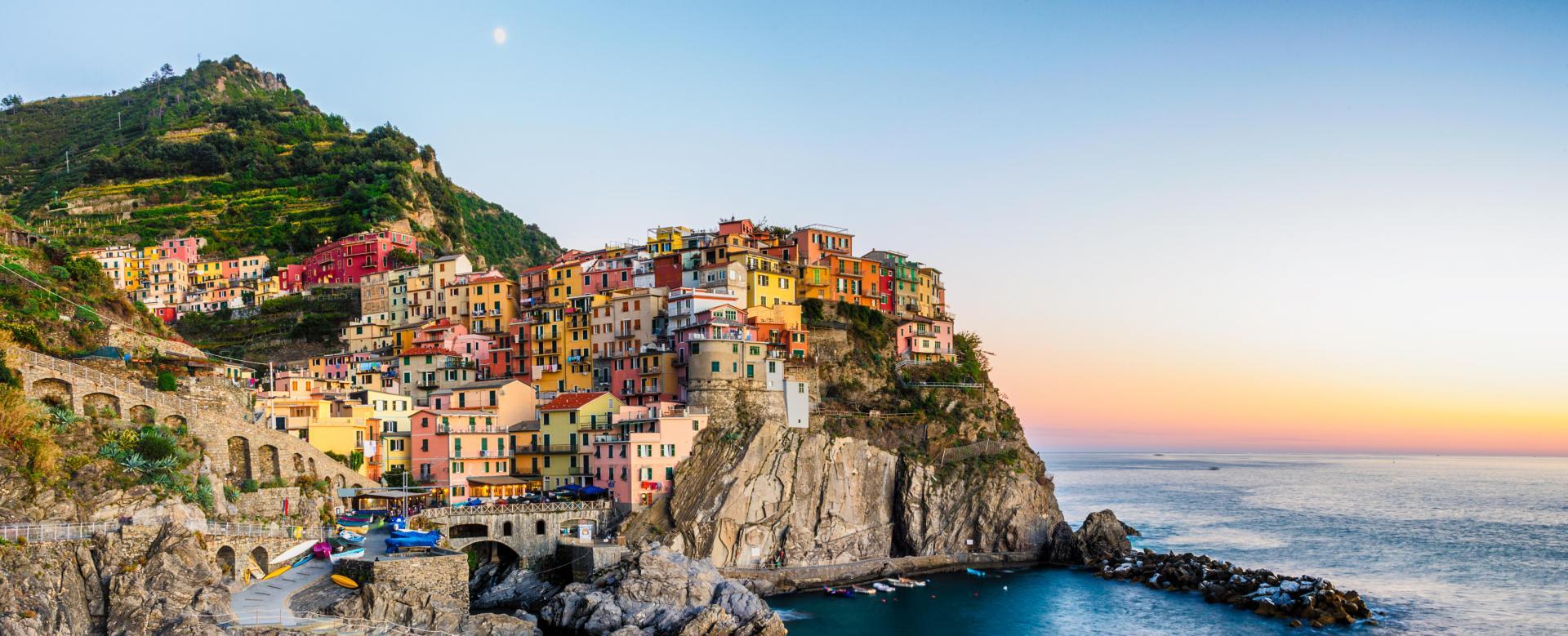 Voyage à pied : Italie : Villages des cinque terre